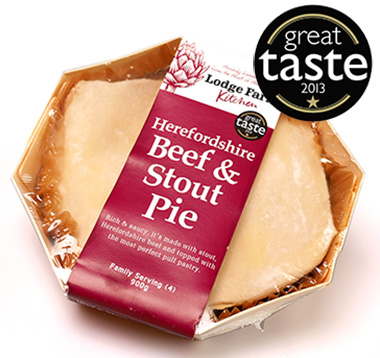 Herefordshire Beef & Stout Pie